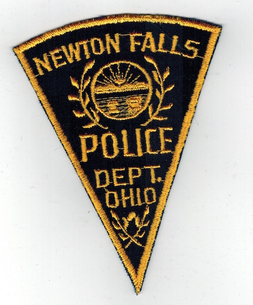 NEWTON FALLS POLICE DEPT. OHIO PIE SHAPE