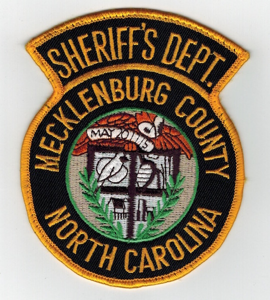 SHERIFFS DEPT. MECKLENBURG COUNTY NORTH CAROLINA