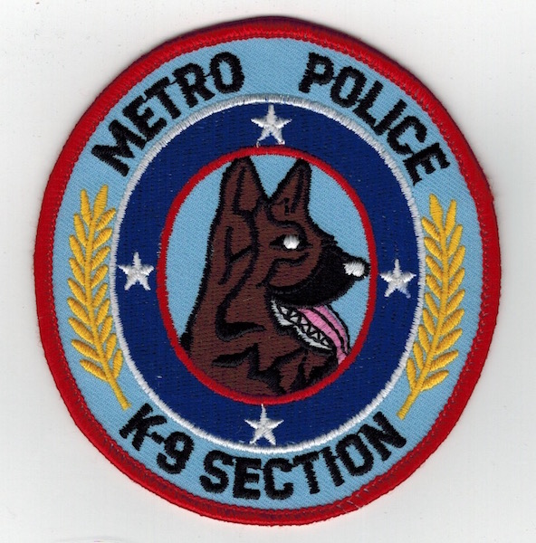 NASHVILLE METRO POLICE K-9 SECTION