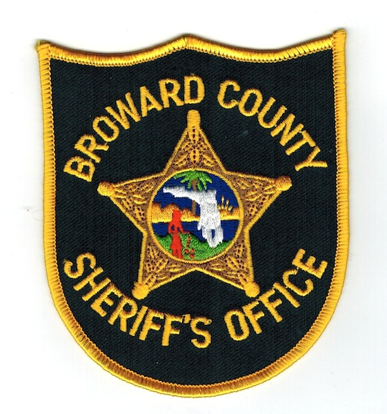 BROWARD COUNTY FLORIDA SHERIFF USED (J)