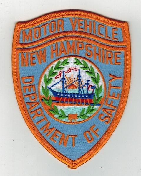 MOTOR VEHICLE NEW HAMPSHIRE DEPT. OF PUBLIC SAFETY (22)