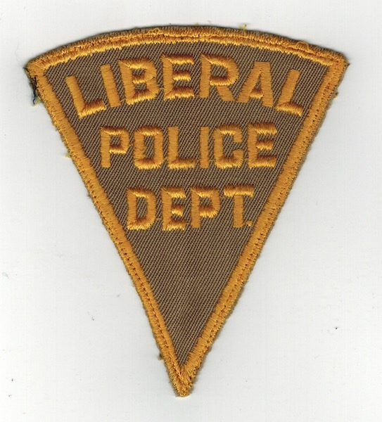 LIBERAL POLICE DEPT. PIE SHAPE (23)