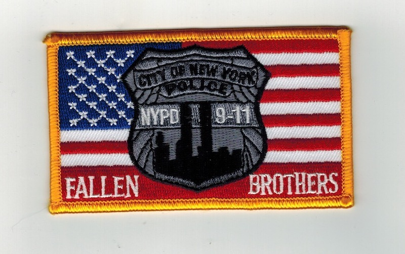 CITY OF NEW YORK FALLEN BROTHERS FLAG (25)