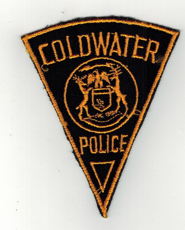 COLDWATER POLICE PIE SHAPE (25)