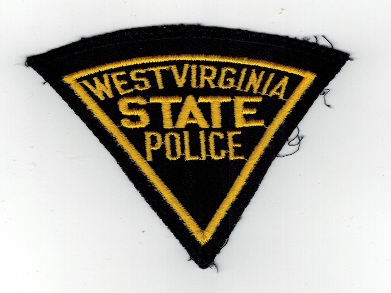 WEST VIRGINA STATE POLICE PIE SHAPE USED