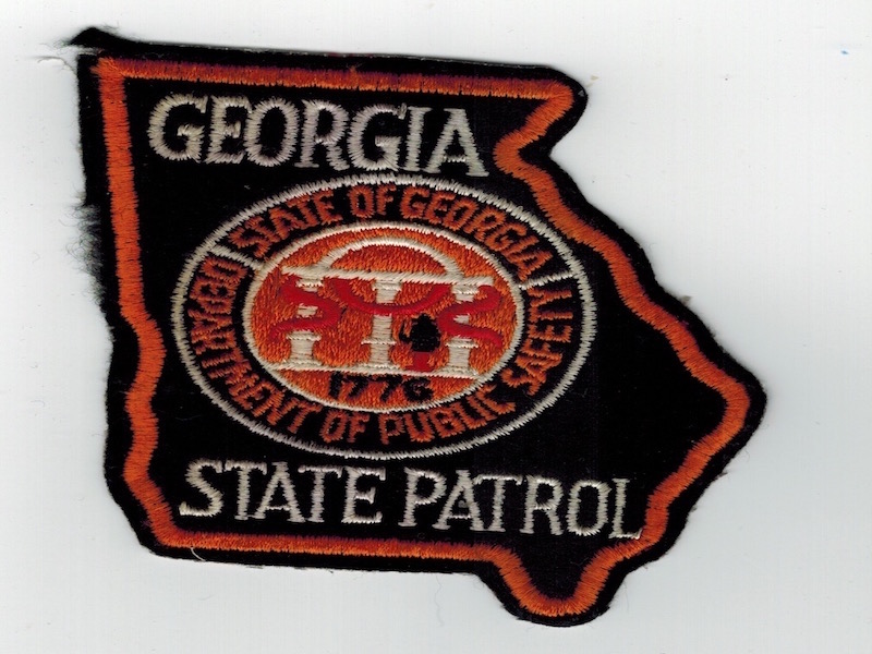 GEORGIA STATE PATROL V2 CUT BORDER
