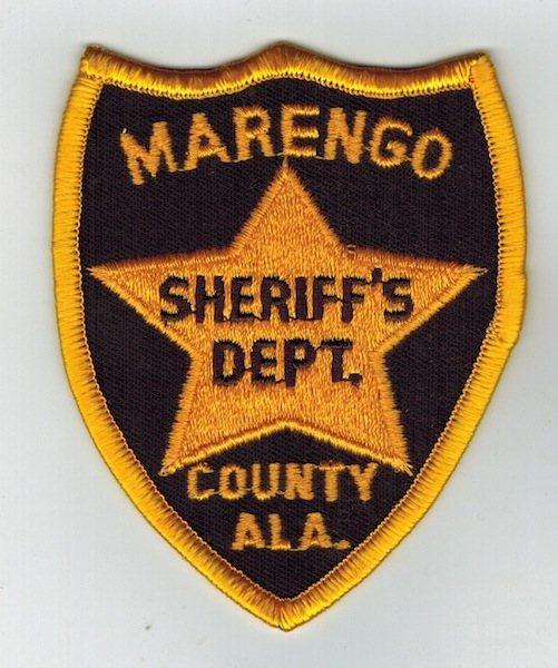 MARENGO COUNTY SHERIFF'S DEPT. ALA (VH)