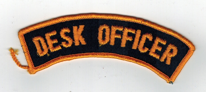 DESK OFFICER 4 1/2""