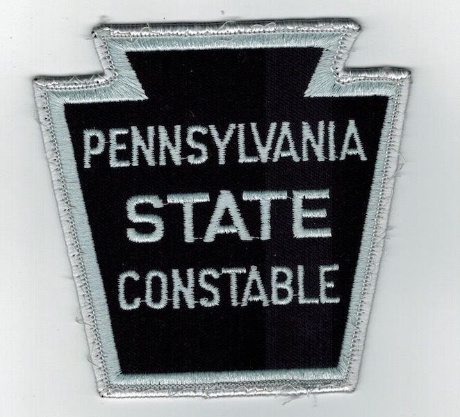 PENNSYLVANIA STATE CONSTABLE KEY STONE