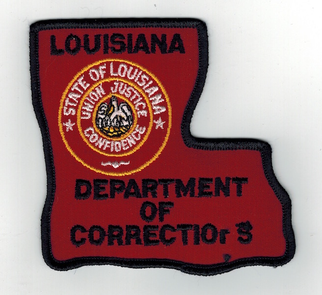 LOUISIANA DEPT. OF CORRECTIONS (20) MISSING LETTER