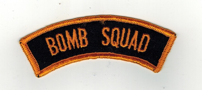 BOMB SQUAD TAB 4 1/2 INCHES WIDE(25)