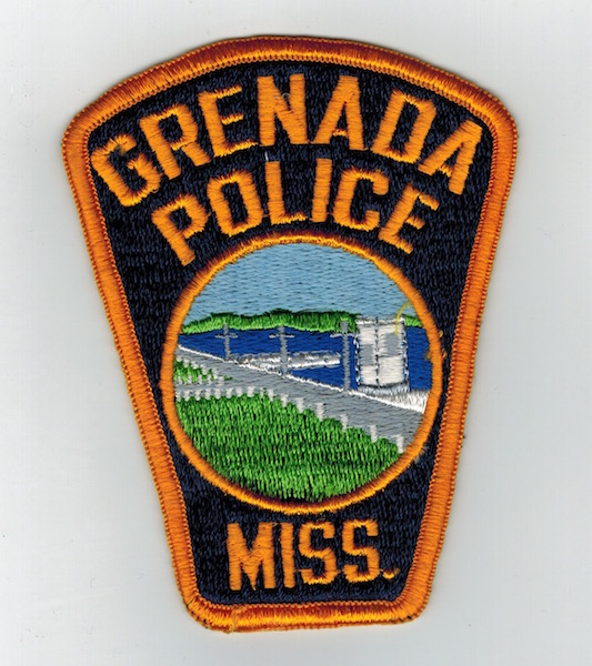 GRENADA POLICE MISS. TOMBSTONE