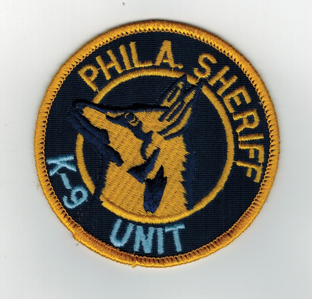PHILA. SHERIFF K-9 UNIT